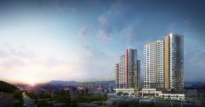광주 최초의 주상복합, 지역 최고층 설계…광주 금호 리첸시아 '눈길'