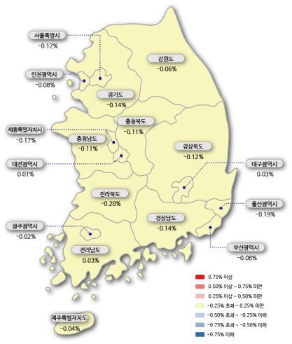 송파구 전셋값 하락세 진정…20주 만에 상승 전환