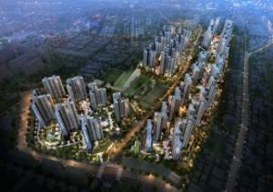 성남 최대 브랜드타운…저렴한 분양가, 짧은 전매제한 매력
