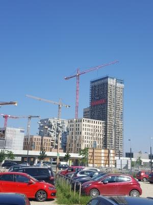 나무로 24층 빌딩을 짓는다…오스트리아 HOHO빌딩 '장관'