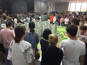 '신천안 한성필하우스 에듀타운' 견본주택 3일간 2만명 방문