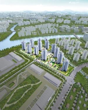 국제테마파크 정문과 바로 연결될 신안산선 전철역 역세권, 여의도까지 한달음