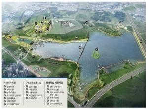 수변 관광ㆍ쇼핑 명소 탈바꿈…떠오른 천안 업성호수