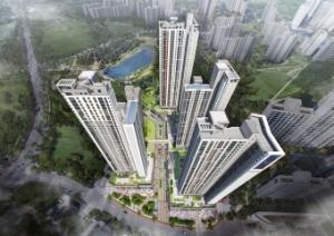 한화건설, 10월 에코시티서 대규모 주상복합 상가 분양
