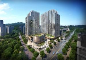현대건설 '힐스테이트 과천 중앙' 오피스텔 완판