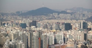 서울 민간아파트 분양가 1.3% 하락…3.3㎡당 2629만원