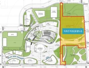광교신도시 융합타운 주차장 첫 삽…내년 4월 완공