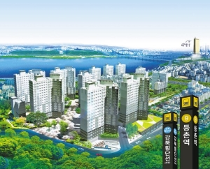 3.3㎡당 1800만원대 서울 등촌역 초역세권 대단지