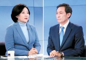 """박영선 """"주택 품은 수직정원"""" 우상호 """"16만호 강변아파트"""""""
