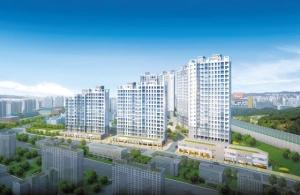 노후 아파트 많은 와부읍 전철역 앞 중소형 아파트 14일 오픈