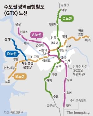 GTX 따라 집값 뜀박질, 김포·검단은 좋다 말았다