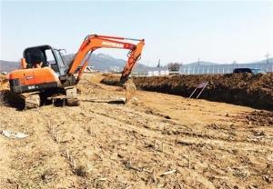 양주 이안, 상반기 착공 임박…토지 공사 중