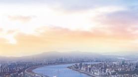 '제2 한강 르네상스' 수혜지…3.3㎡당 1500만원대 트리플 역세권